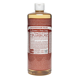 Dr Bronner`s 18-in-1 Organic Eucalyptus Pure-Castile Liquid Soap - 946ml