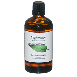 Amour Natural Peppermint Pure Essential Oil - 100ml