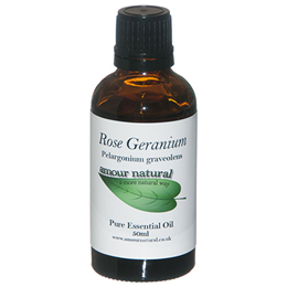 Amour Natural Rose Geranium Pure Essential Oil - 50ml
