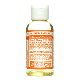 Dr Bronner`s 18-in-1 Organic Tea Tree Castile Liquid Soap 59ml