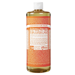 Dr Bronner`s 18-in-1 Organic Tea Tree Castile Liquid Soap 946ml