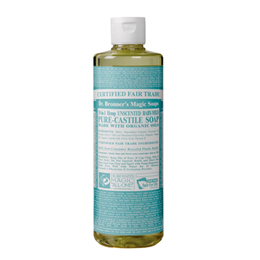 Dr Bronner`s 18-in-1 Organic Baby-Mild Unscented Pure-Castile Liquid Soap - 237ml