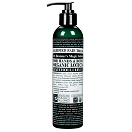 Dr Bronner`s Organic Patchouli Lime Hand & Body Lotion 237ml
