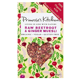 Primrose`s Kitchen Raw Beetroot & Ginger Muesli - 400g