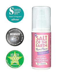Salt of the Earth Natural Deodorant - Lavender & Vanilla - 100ml