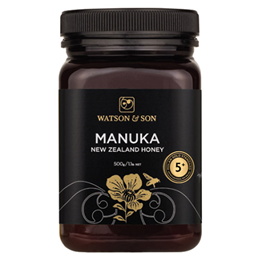 Watson and Son Manuka Honey - MGS 5+ - 500g