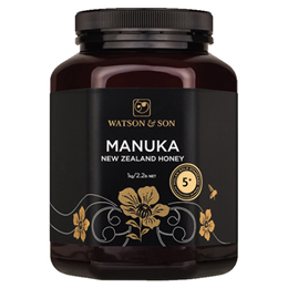 Watson and Son Manuka Honey - MGS 5+ - 1kg