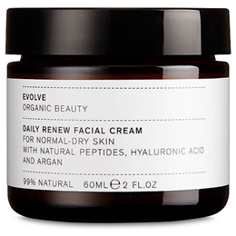 Evolve Daily Renew Natural Peptides & Hyaluronic Acid Face Cream - 60ml