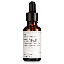 Evolve Organic Rosehip, Argan & Nigella Miracle Facial Oil - 30ml