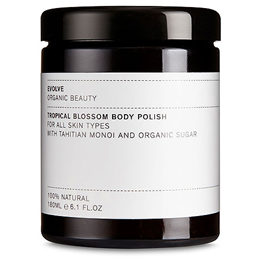 Evolve Tropical Blossom Body Polish With Tahitian Monoi - 180ml