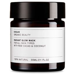 Evolve Radiant Glow Mask With Raw Cacao & Coconut - 30ml