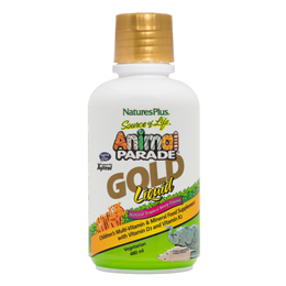 Nature`s Plus Animal Parade Multivitamin & Mineral Gold Liquid - 480ml