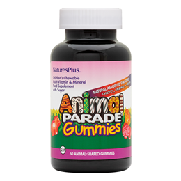 Nature`s Plus Animal Parade Multivitamin & Mineral - 50 Assorted Gummies