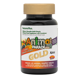 Nature`s Plus Gold Animal Parade Multivitamin & Mineral 60 Chewables