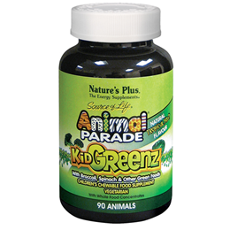 Nature`s Plus Animal Parade KidGreenz 90 Chewable Tablets