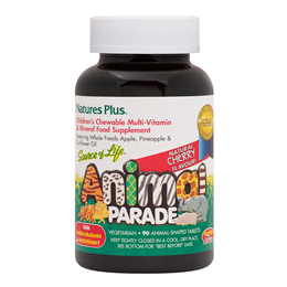 Nature`s Plus Animal Parade Multivitamin & Mineral - 90 Cherry Chewables