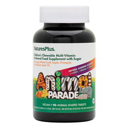 Natures Plus Animal Parade Multivitamin & Mineral -90 Chewable Tablets