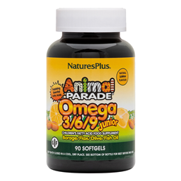 Nature`s Plus Animal Parade Omega 3-6-9 Junior 90 Softgels