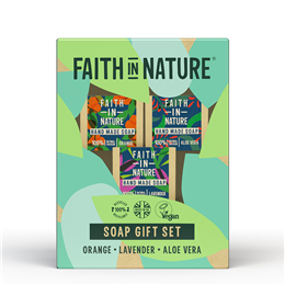 Faith in Nature Soap Gift Set