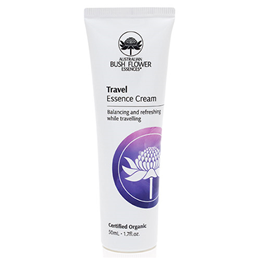 Australian Bush Flowers Organic Travel Moisturiser - 50ml - Best before date is 30th June 2019