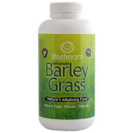 Lifestream Barley Grass Powder - Certified Organic - 250g