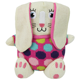 Aroma Home Knitted Cosy Friends Rabbit Hottie