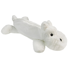 Aroma Home Furry Friends Pencil Case White Westie