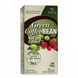 Nature`s Answer Green Coffee Bean Extract  - 60 x 400mg Vegicaps
