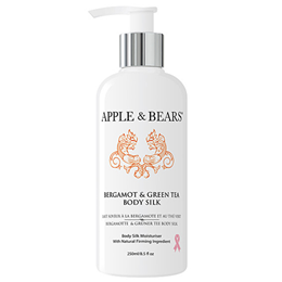 APPLE & BEARS Bergamot & Green Tea Body Silk - 250ml