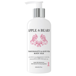 APPLE & BEARS Pomegranate & Aloe Vera Body Silk - 250ml