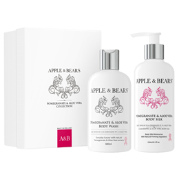 APPLE & BEARS Pomegranate & Aloe Vera Collection - Gift Set