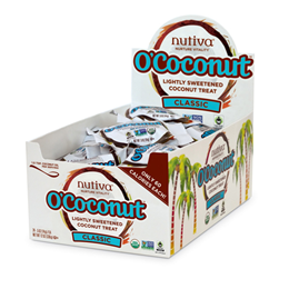 Nutiva O`Coconut Classic - 24 x 14g Coconut Treats