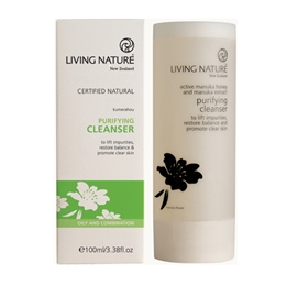 Living Nature Purifying Cleanser - Kumerahou - 100ml