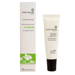 Living Nature Lip Balm - Active Manuka Honey - 10ml