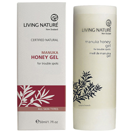 Living Nature Manuka Honey Gel  - For Trouble Spots - 50ml