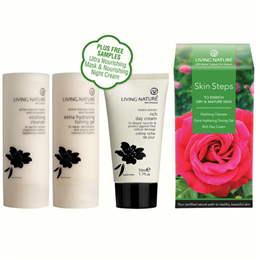 Living Nature Skin Steps - To Enrich Dry & Mature Skin