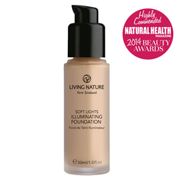 Living Nature Soft Lights Illuminating Foundation - Dawn Glow - 30ml