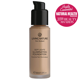 Living Nature Soft Lights Illuminating Foundation - Day Glow 30ml - Best before date is 31st May 2018