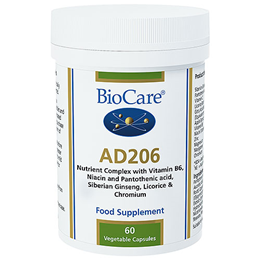 BioCare AD206 - Adrenal Support Complex - 60 Vegicaps