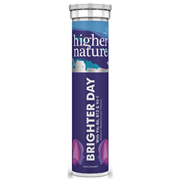 Higher Nature Brighter Day - Blackcurrant - 15 Tablets - Best before date is 31st December 2019