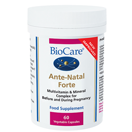 BioCare Ante-Natal Forte - Before & During Pregnancy - 60 Vegicaps