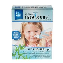 Dr Hana`s Nasopure Little Squirt to go - Bottle & 20 Saline Packets