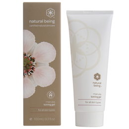 natural being Manuka Toning Gel - For All Skin Types - 100ml