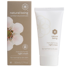 natural being Manuka Honey Night Cream - Normal & Dry Skin - 50ml