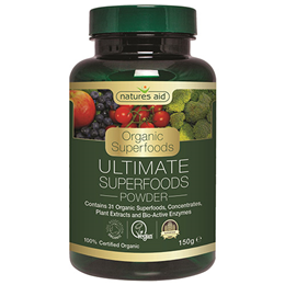 Natures Aid Organic Ultimate Superfoods Powder - 150g