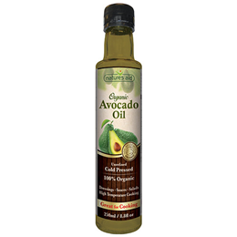 Natures Aid Organic Avocado Oil - 250ml