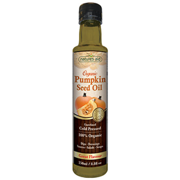 Natures Aid Organic Pumpkin Seed Oil - 250ml