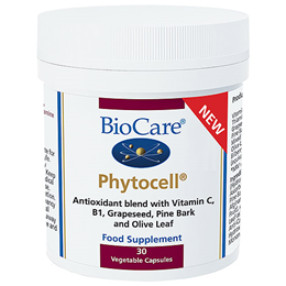 BioCare PhytoCell - Antioxidant Blend - 30 Vegicaps - Best before date is 31st January 2018