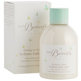 Little Butterfly Floating on Clouds - Bedtime Bath Milk - 250ml