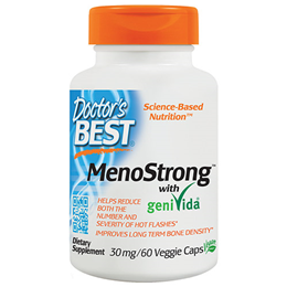 Doctors Best MenoStrong with geniVida - 60 x 30mg Vegicaps